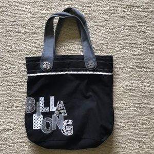 Billabong canvas tote